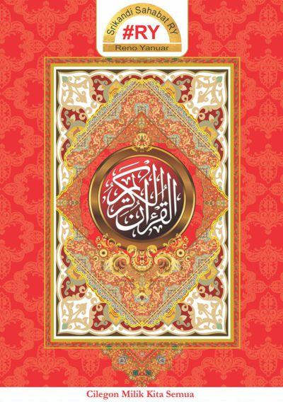 Cover Al-Hikmah maroon A5 34